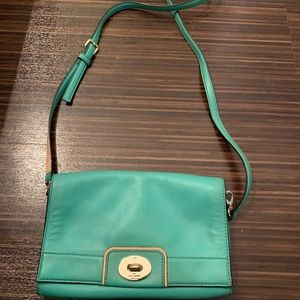 Kate Spade Hampton Road Turquoise Crossbody Bag